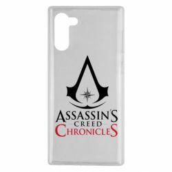 Чохол для Samsung Note 10 Assassin's creed ChronicleS