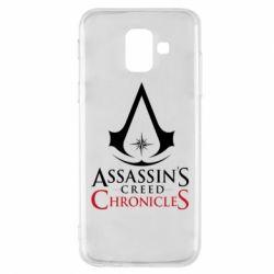 Чохол для Samsung A6 2018 Assassin's creed ChronicleS