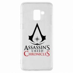 Чохол для Samsung A8+ 2018 Assassin's creed ChronicleS