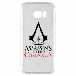 Чохол для Samsung S7 EDGE Assassin's creed ChronicleS