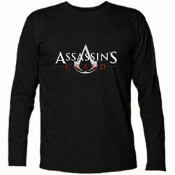 Футболка з довгим рукавом Assassin's Creed logo