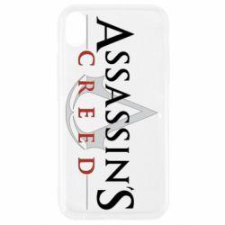 Чохол для iPhone XR Assassin's Creed logo