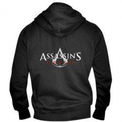 Чоловіча толстовка на блискавці Assassin's Creed logo