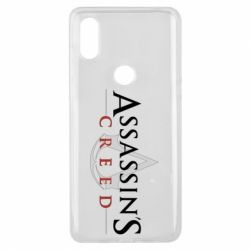Чехол для Xiaomi Mi Mix 3 Assassin's Creed logo