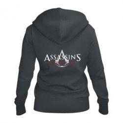 Жіноча толстовка на блискавці Assassin's Creed logo