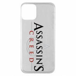 Чохол для iPhone 11 Assassin's Creed logo