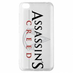 Чехол для Xiaomi Redmi Go Assassin's Creed logo