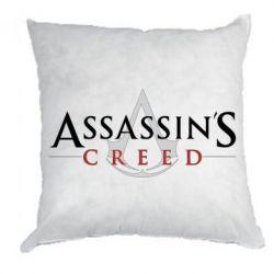 Подушка Assassin's Creed logo