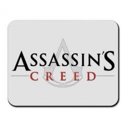 Килимок для миші Assassin's Creed logo