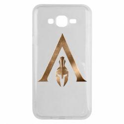 Чохол для Samsung J7 2015 Assassin's Creed: Odyssey logo