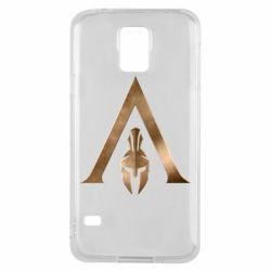 Чохол для Samsung S5 Assassin's Creed: Odyssey logo