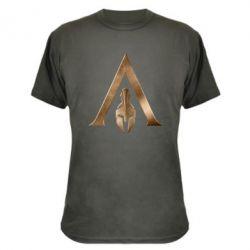 Камуфляжна футболка Assassin's Creed: Odyssey logo