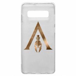 Чохол для Samsung S10+ Assassin's Creed: Odyssey logo