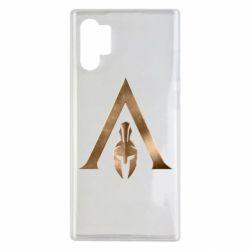 Чохол для Samsung Note 10 Plus Assassin's Creed: Odyssey logo