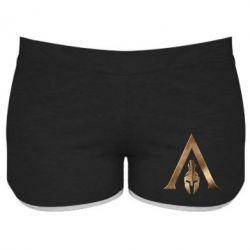 Жіночі шорти Assassin's Creed: Odyssey logo