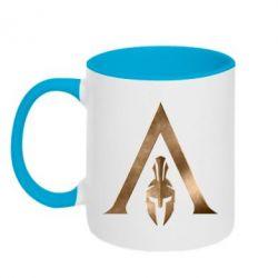 Кружка двоколірна 320ml Assassin's Creed: Odyssey logo