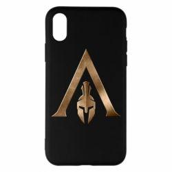 Чохол для iPhone X/Xs Assassin's Creed: Odyssey logo