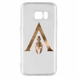 Чохол для Samsung S7 Assassin's Creed: Odyssey logo