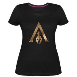 Жіноча стрейчева футболка Assassin's Creed: Odyssey logo