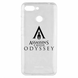 Чохол для Xiaomi Redmi 6 Assassin's Creed: Odyssey logotype - FatLine