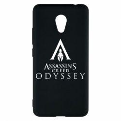 Чохол для Meizu M5c Assassin's Creed: Odyssey logotype - FatLine