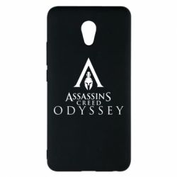 Чохол для Meizu M5 Note Assassin's Creed: Odyssey logotype - FatLine