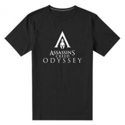Чоловіча стрейчева футболка Assassin's Creed: Odyssey logotype