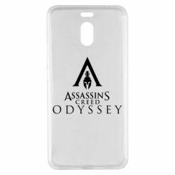 Чохол для Meizu M6 Note Assassin's Creed: Odyssey logotype - FatLine