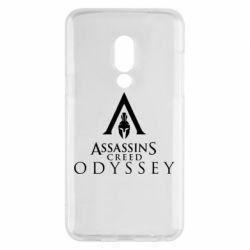 Чохол для Meizu 15 Assassin's Creed: Odyssey logotype - FatLine