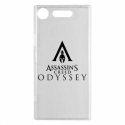 Чохол для Sony Xperia XZ1 Assassin's Creed: Odyssey logotype - FatLine