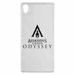 Чохол для Sony Xperia Z5 Assassin's Creed: Odyssey logotype - FatLine