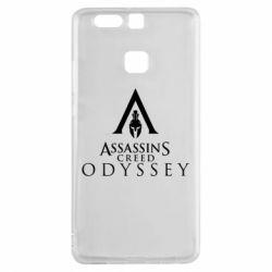 Чохол для Huawei P9 Assassin's Creed: Odyssey logotype - FatLine
