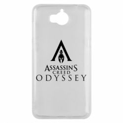 Чохол для Huawei Y5 2017 Assassin's Creed: Odyssey logotype - FatLine