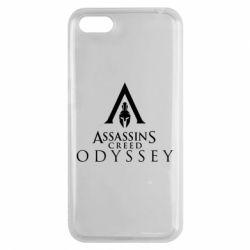 Чохол для Huawei Y5 2018 Assassin's Creed: Odyssey logotype - FatLine