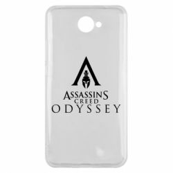 Чохол для Huawei Y7 2017 Assassin's Creed: Odyssey logotype - FatLine