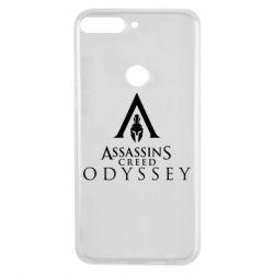 Чохол для Huawei Y7 Prime 2018 Assassin's Creed: Odyssey logotype - FatLine