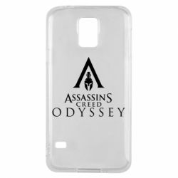 Чохол для Samsung S5 Assassin's Creed: Odyssey logotype