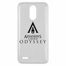 Чохол для LG K10 2017 Assassin's Creed: Odyssey logotype - FatLine