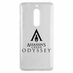 Чохол для Nokia 5 Assassin's Creed: Odyssey logotype - FatLine