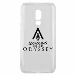 Чохол для Meizu 16 Assassin's Creed: Odyssey logotype - FatLine