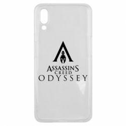 Чохол для Meizu E3 Assassin's Creed: Odyssey logotype - FatLine