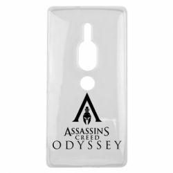 Чохол для Sony Xperia XZ2 Premium Assassin's Creed: Odyssey logotype - FatLine
