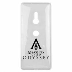 Чохол для Sony Xperia XZ3 Assassin's Creed: Odyssey logotype - FatLine