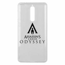 Чохол для Nokia 8 Assassin's Creed: Odyssey logotype - FatLine