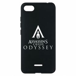 Чохол для Xiaomi Redmi 6A Assassin's Creed: Odyssey logotype - FatLine