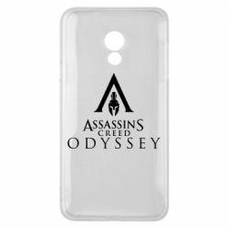 Чохол для Meizu 15 Lite Assassin's Creed: Odyssey logotype - FatLine