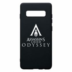 Чохол для Samsung S10+ Assassin's Creed: Odyssey logotype