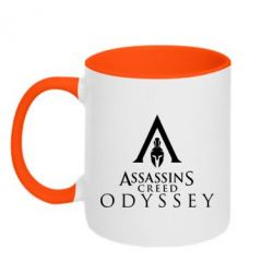 Кружка двоколірна 320ml Assassin's Creed: Odyssey logotype