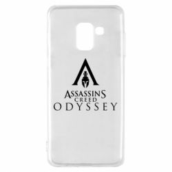 Чохол для Samsung A8 2018 Assassin's Creed: Odyssey logotype