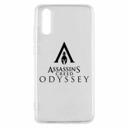 Чохол для Huawei P20 Assassin's Creed: Odyssey logotype - FatLine